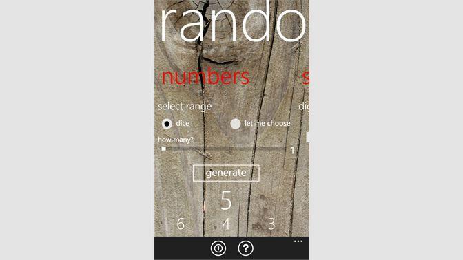Get Randomizer - Microsoft Store