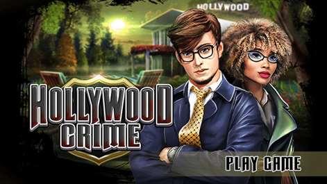 Hidden Object : Hollywood Crime Screenshots 1