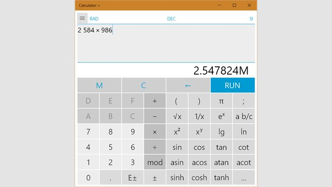 Get Calculator + - Microsoft Store