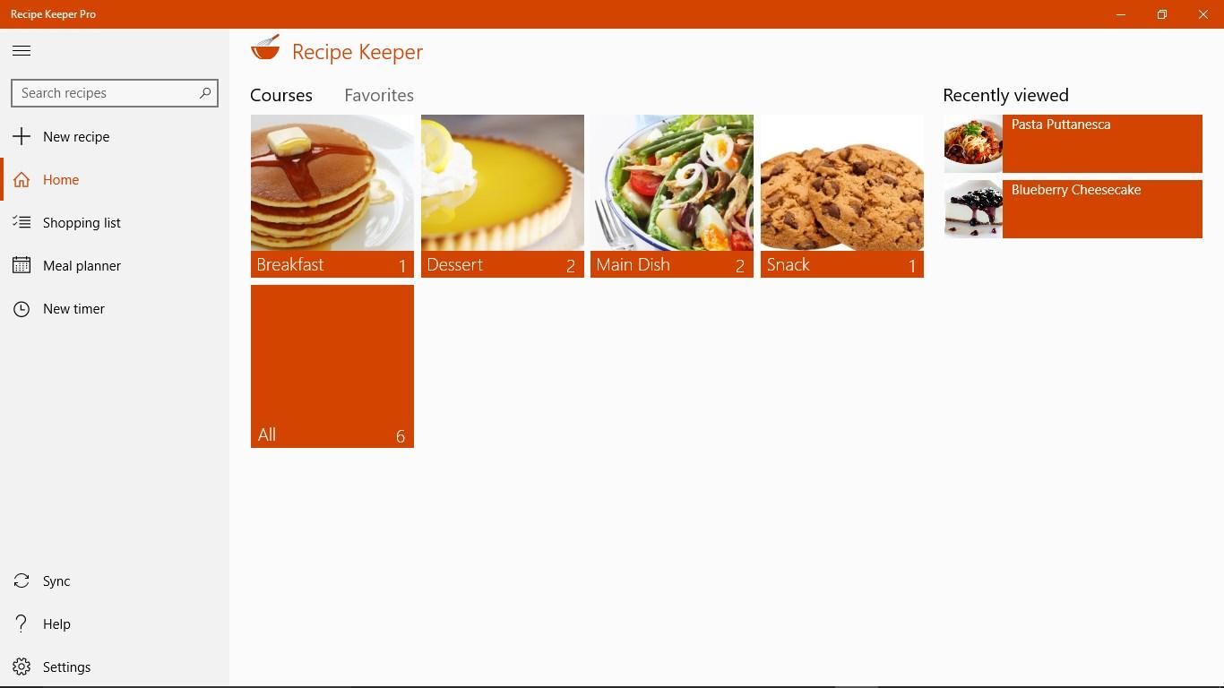 Recipe Keeper Free