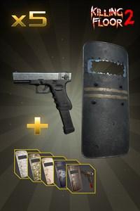 Полицейский щит и G18