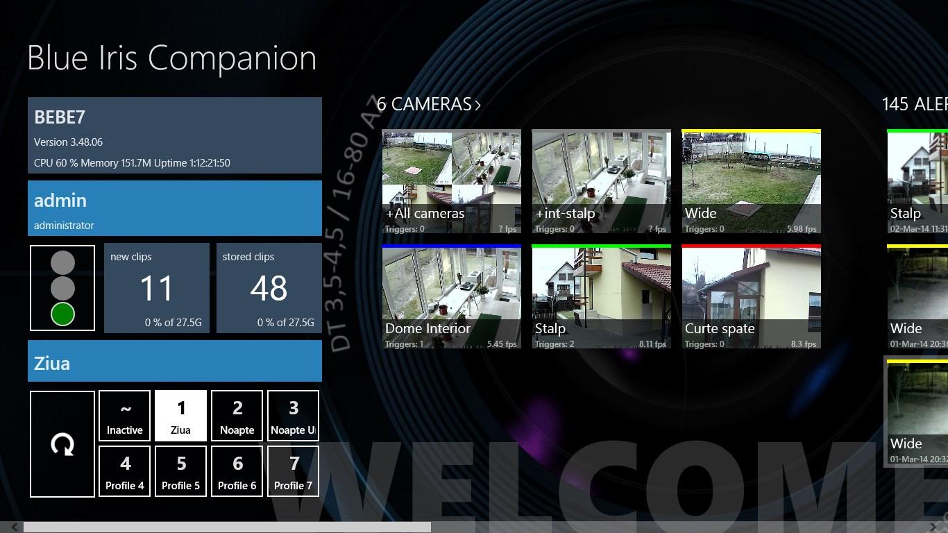 Blue Iris Companion for Windows 10