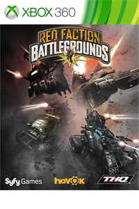 Carátula para el juego Red Faction: Battlegrounds de Xbox 360