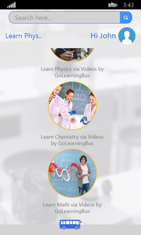 Physics, Chemistry and Math-simpleNeasyApp by WAGmob