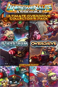 Carátula del juego Ultimate Overdrive Collector's Pack - Awesomenauts Assemble! Game Pack