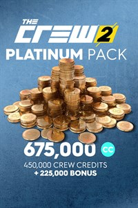 The Crew 2 Platinum Crew Credits Pack