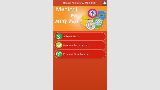 Get Medical PG Entrance MCQ Test - Microsoft Store