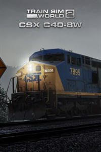 Train Sim World® 2: CSX C40-8W