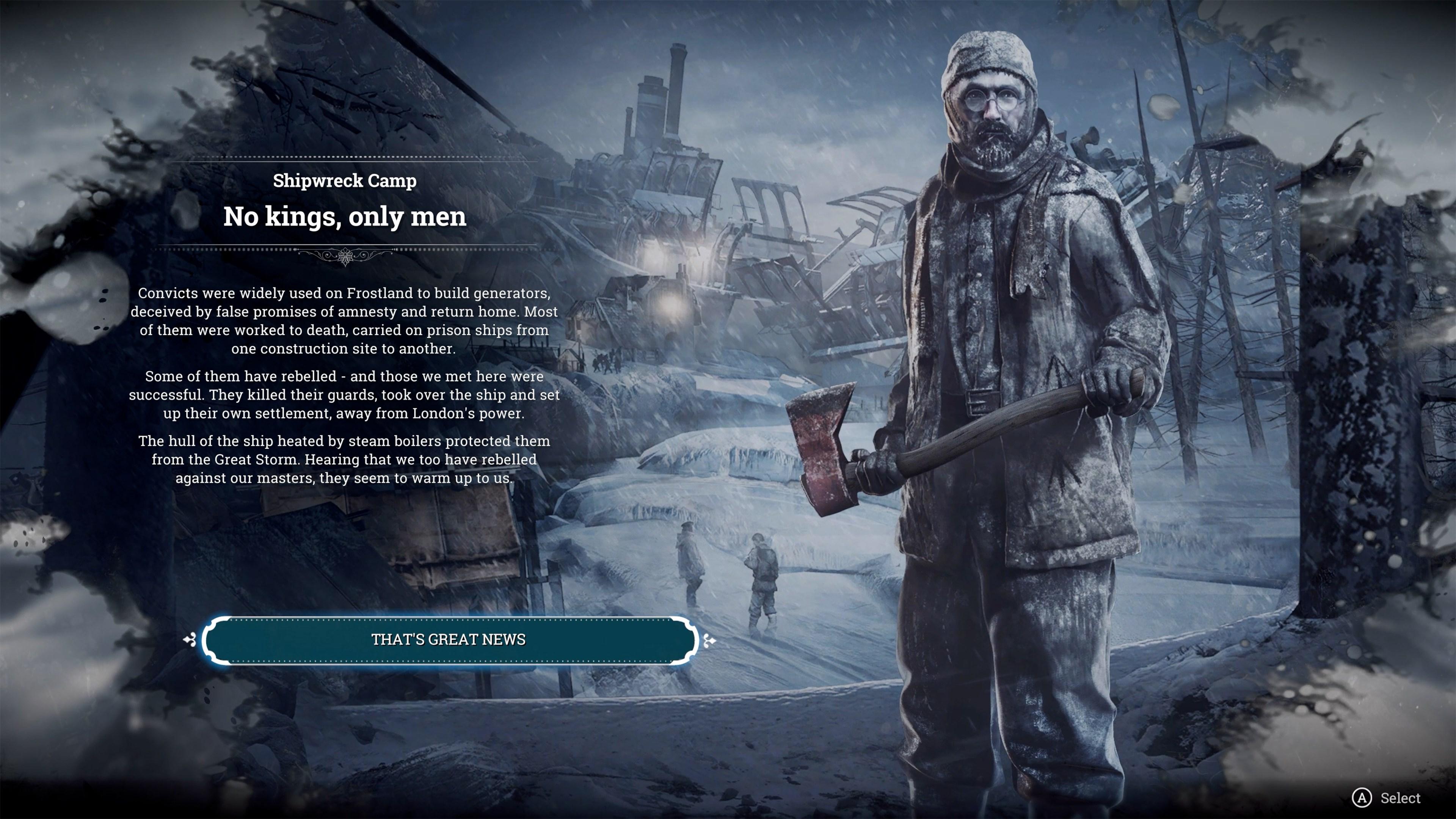 Скриншот №11 к Frostpunk On The Edge