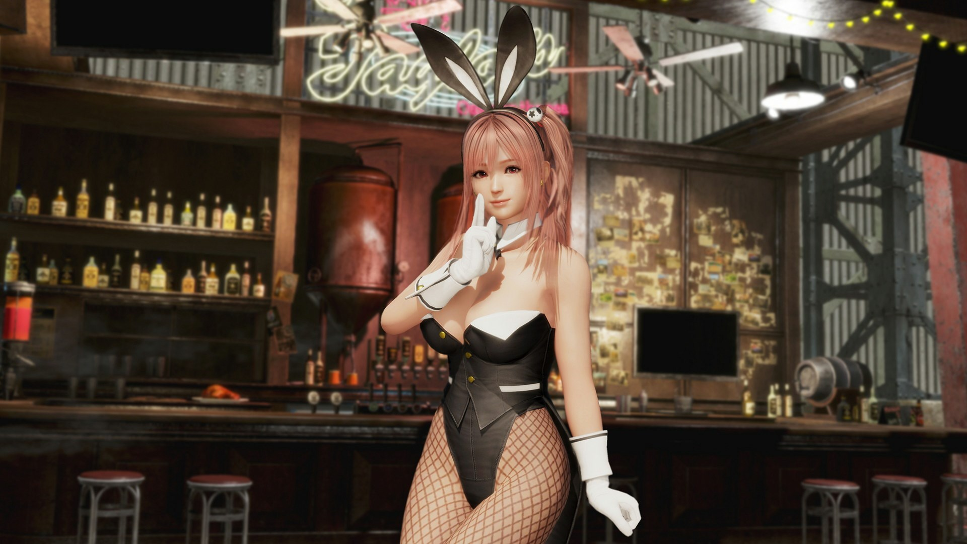 [Regreso] DOA6 Disfraz de conejita sexy - Honoka