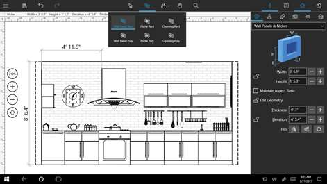 Buy live home 3d pro microsoft store for Sweet home 3d mobili