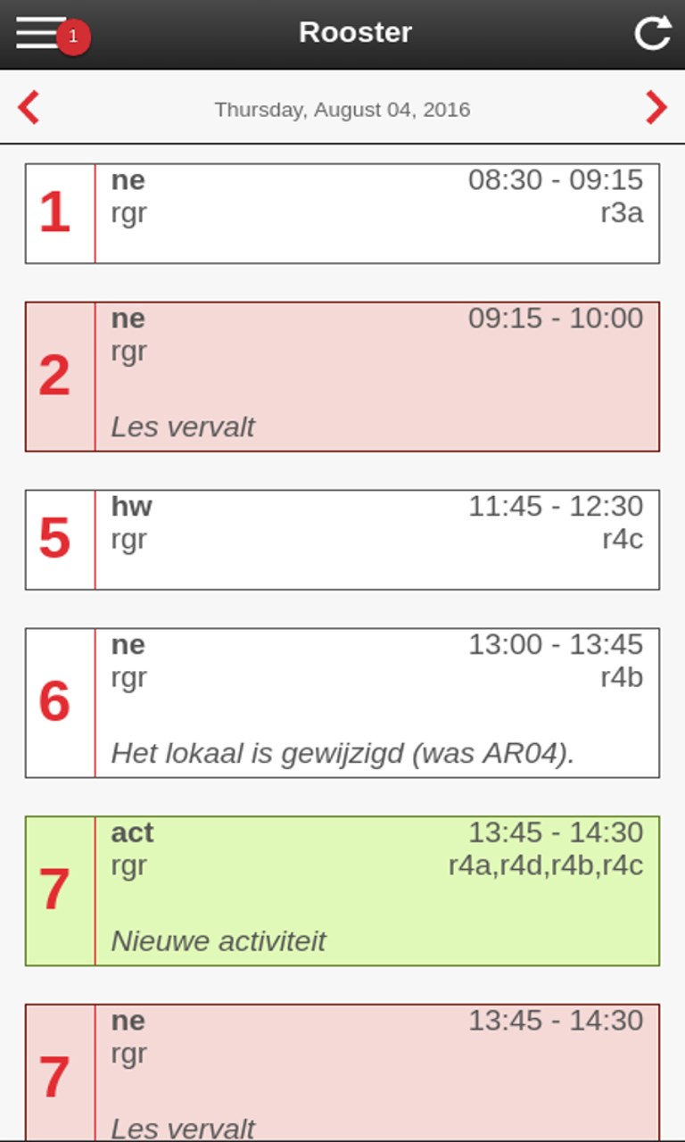 Wortel dating op iPhone