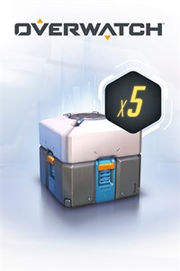 Overwatch - 5 Loot Boxes