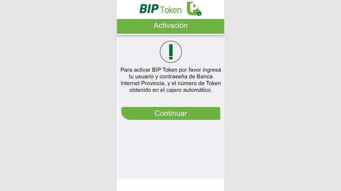 Obtener BIP Token: Microsoft Store es-AR