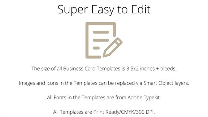 Buy Business Card Templates For Photoshop Microsoft Store