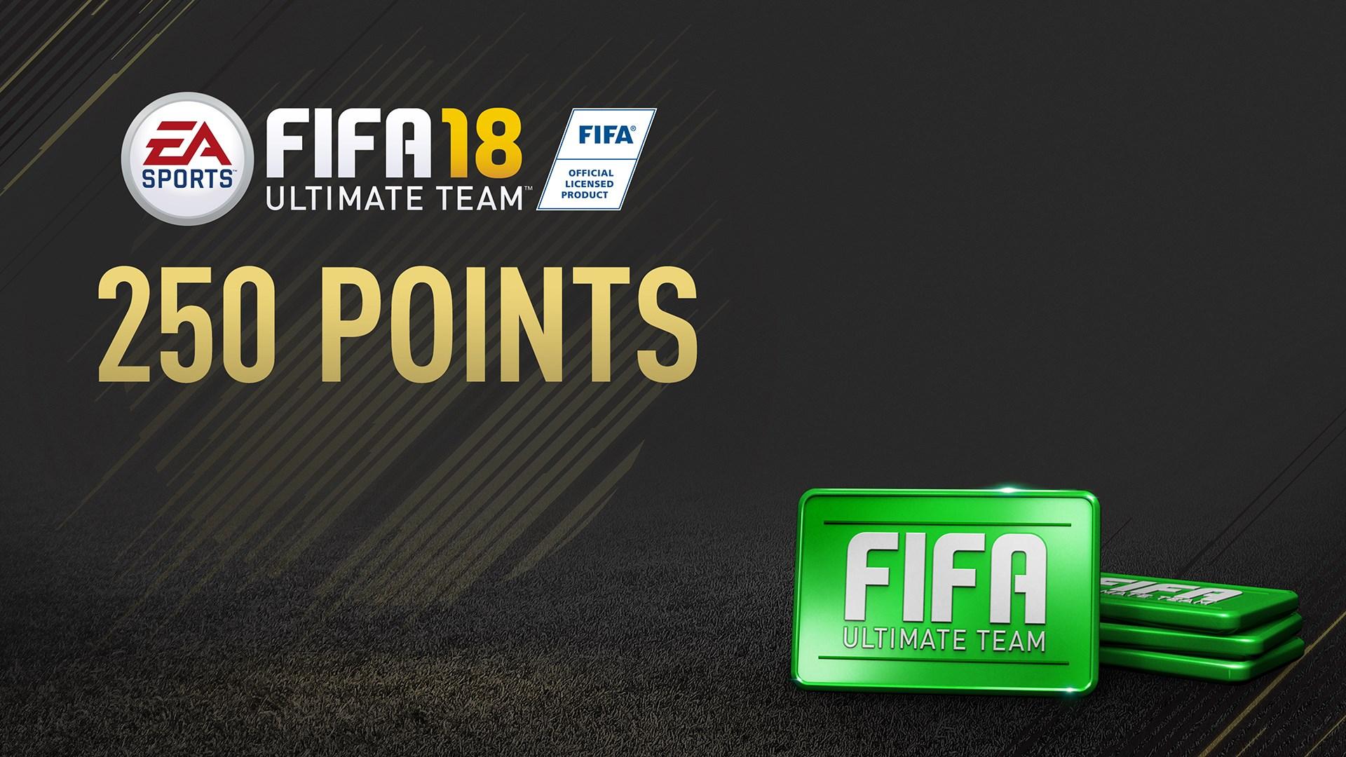 Pacote de 250 FIFA 18 Points