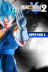 Carátula del juego DRAGON BALL XENOVERSE 2 - Super Pack 4