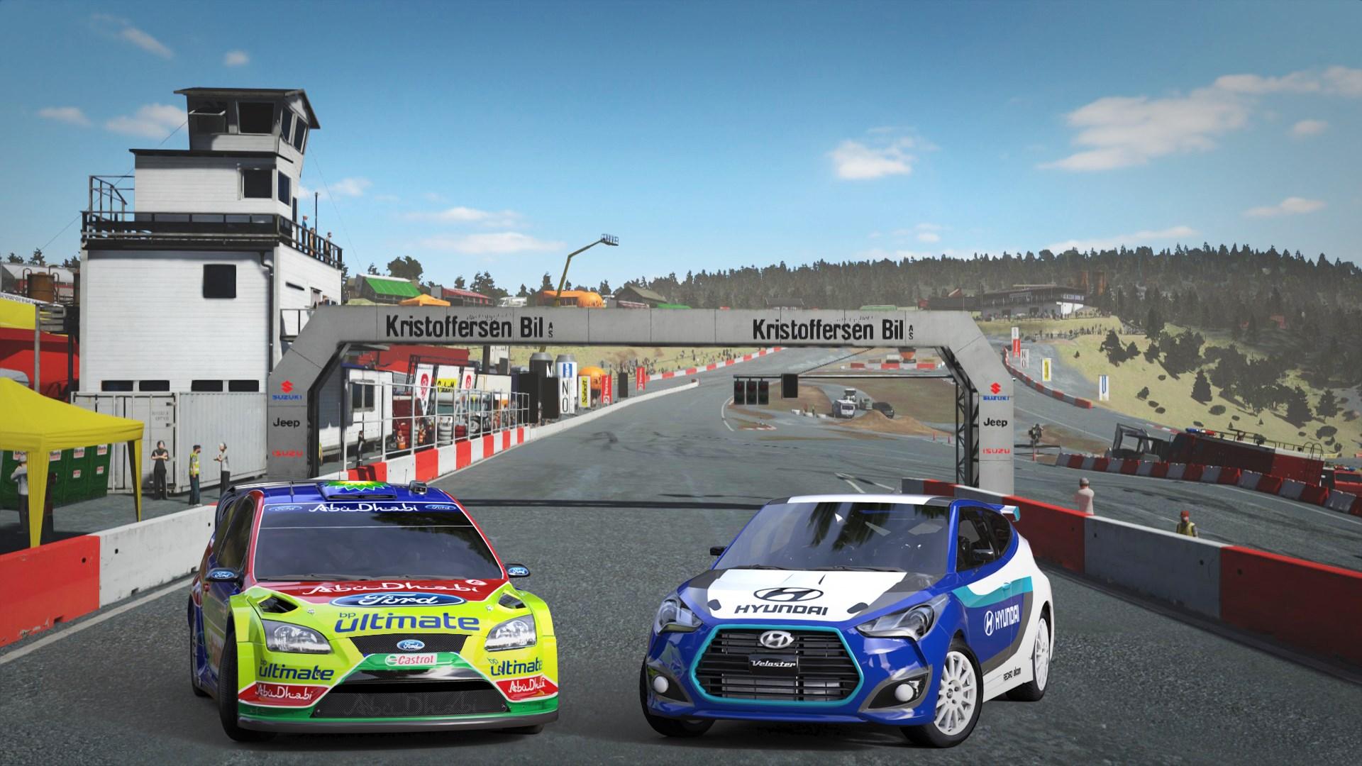 Скриншот №3 к Sébastien Loeb Rally EVO - Rallycross Pack