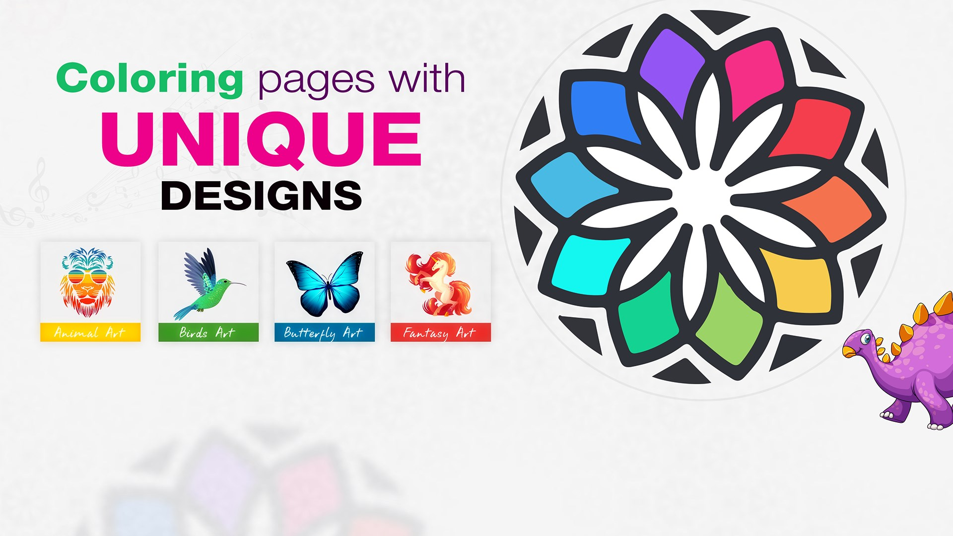 Adult Coloring Book - Free Style Coloring Book Game'ga ega bo'ling ...