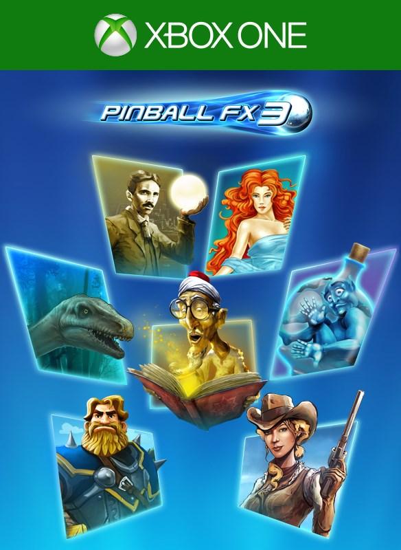 Pinball FX3 imagem da caixa