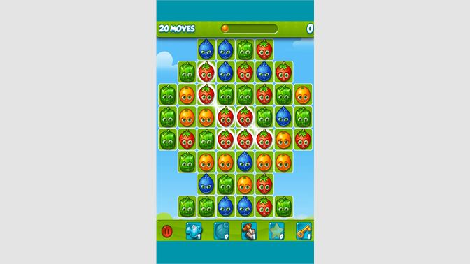 angry birds pop fruit levels