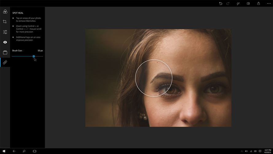 Adobe Photoshop Express: Image Editor, Adjustments, Filters, Effects, Borders Screenshot