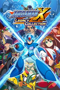 Carátula del juego Mega Man X Legacy Collection