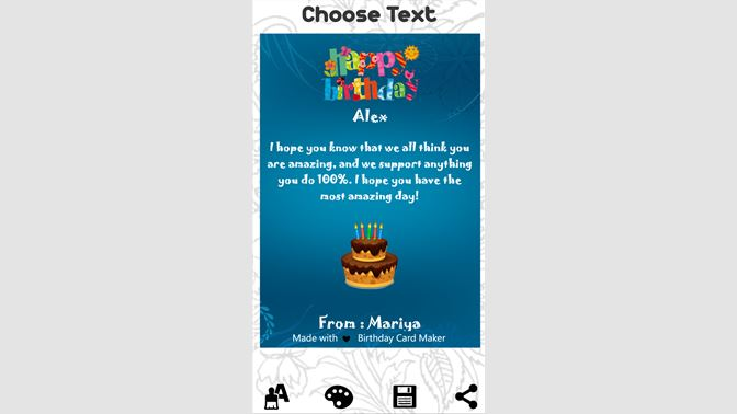 Get Birthday Cards Maker