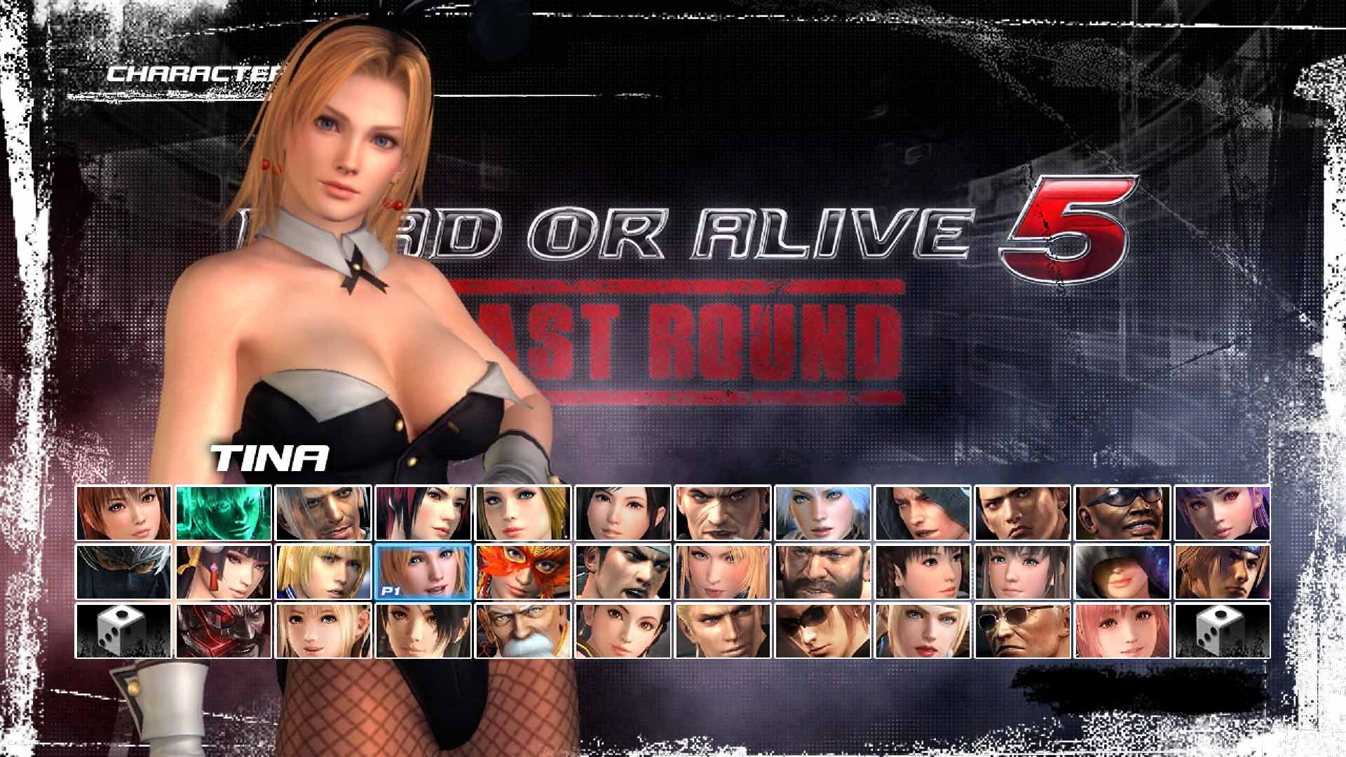 DEAD OR ALIVE 5 Last Round: Coelhinha Sexy Tina