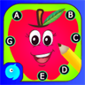 Connect the dots - ABC Kids Games to Learn English Letters by dot to dot Fun