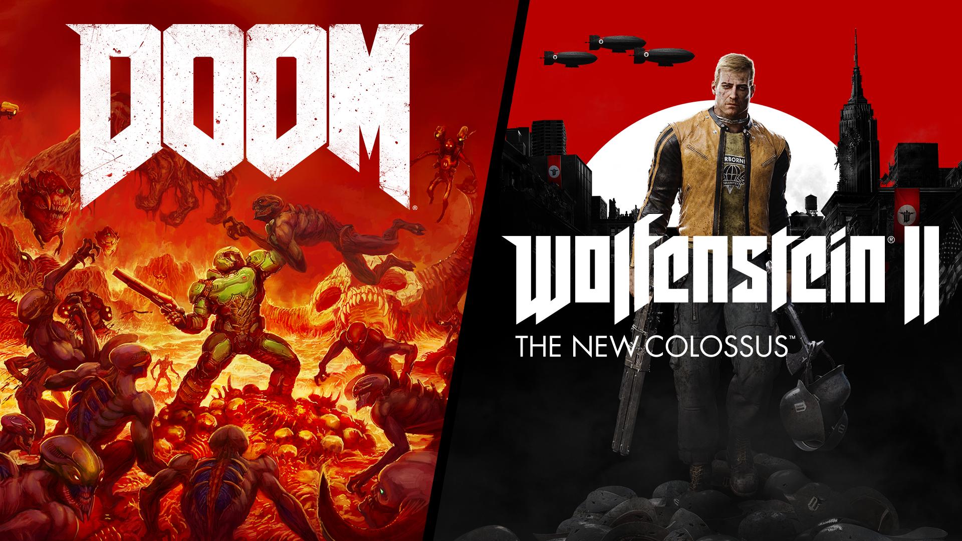 DOOM + Wolfenstein II Bundle | Xbox Power Marketplace