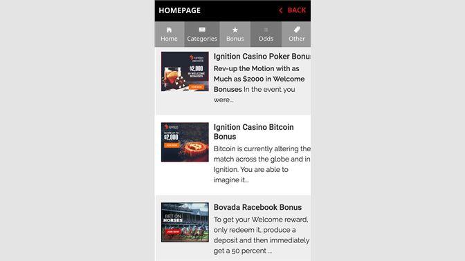 Get Bovada Casino - Online Bovada Lv Mobile Sports