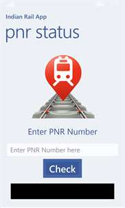 Indian Rail App screenshot 2