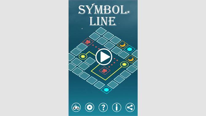 Get Symbol Line Microsoft Store