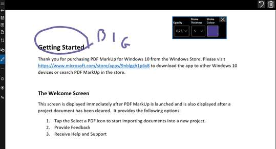 PDF Markup screenshot 8