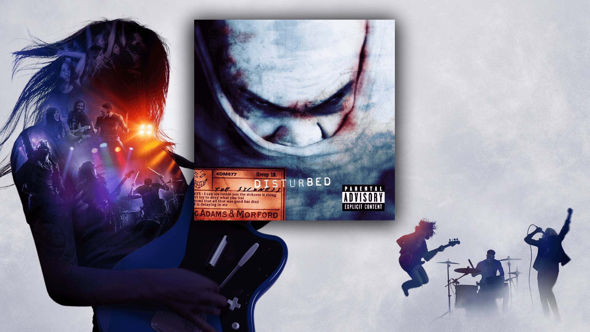 """""""Down with the Sickness"""" - Disturbed"""