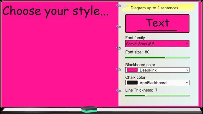 Recevoir Sentence Diagrammer Microsoft Store Fr Vu