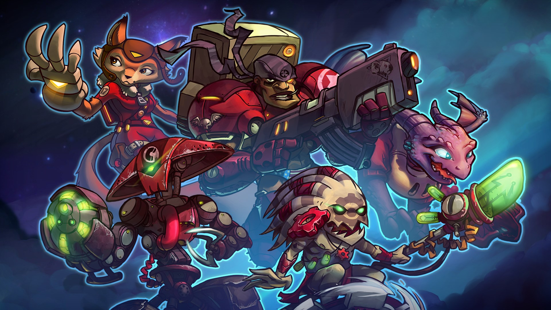 Starstorm Bundle - Awesomenauts Assemble! Character Pack