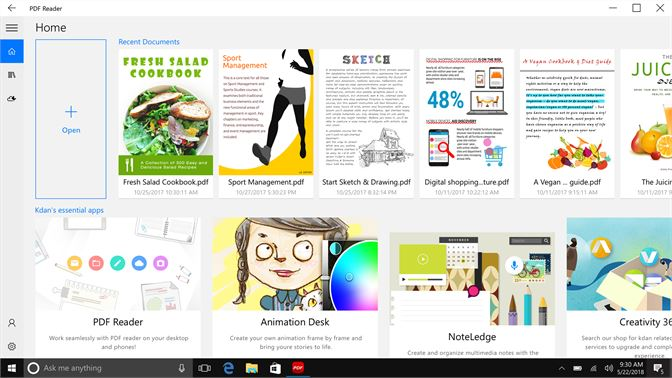 get pdf reader view edit share microsoft store