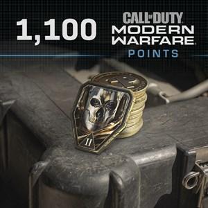 1,100 Call of Duty®: Modern Warfare® Points Xbox One