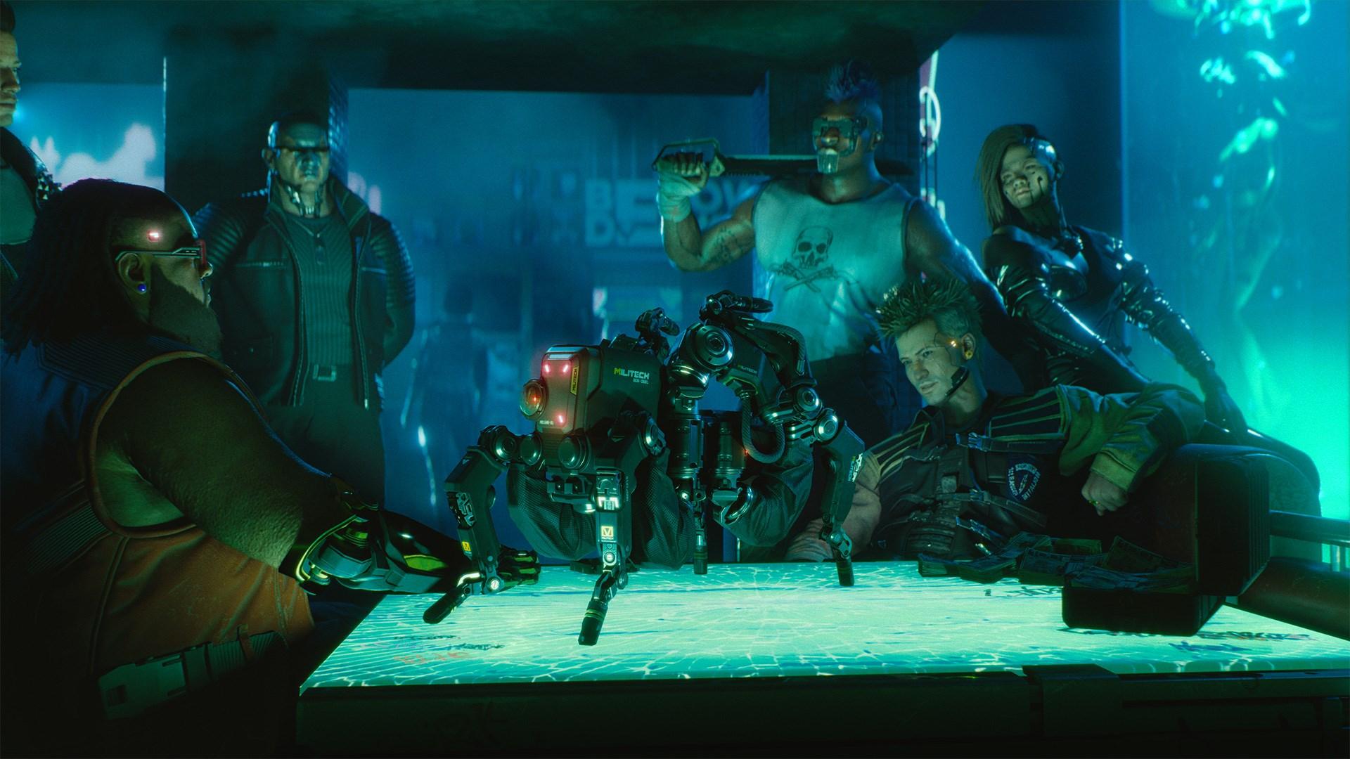 Скриншот №21 к Cyberpunk 2077