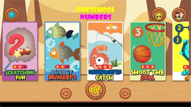 Get Kids Preschool Numbers & Math - Microsoft Store