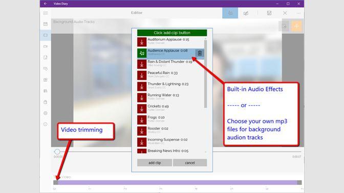 Get Video Diary - Microsoft Store