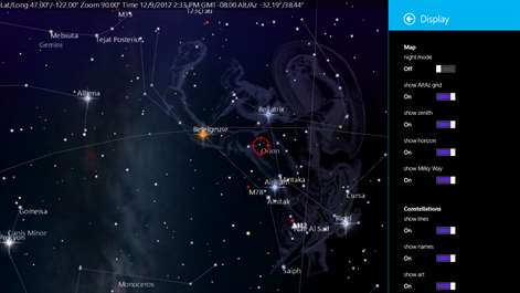 Get SkyMap Free Microsoft Store - Astronomical map of galaxies in the us