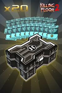 Serie #14 Waffen-Gold-Box