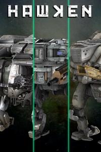 HAWKEN — комплект из трех боевых машин