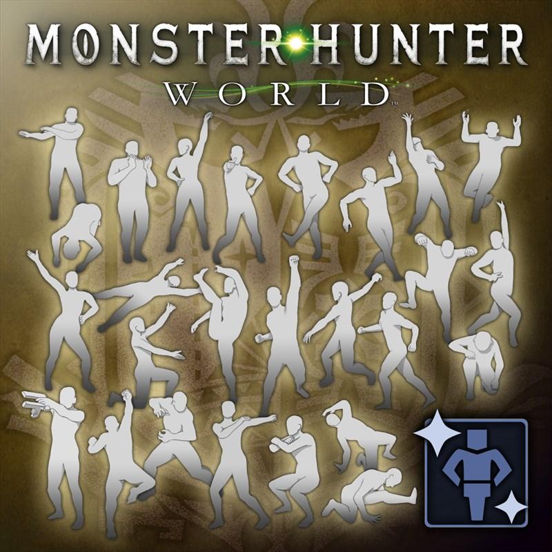 Monster Hunter: World - Complete Gesture Pack