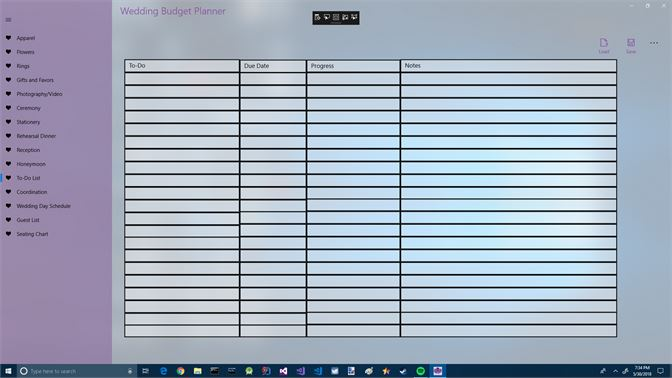 wedding budget planner を入手 microsoft store ja jp