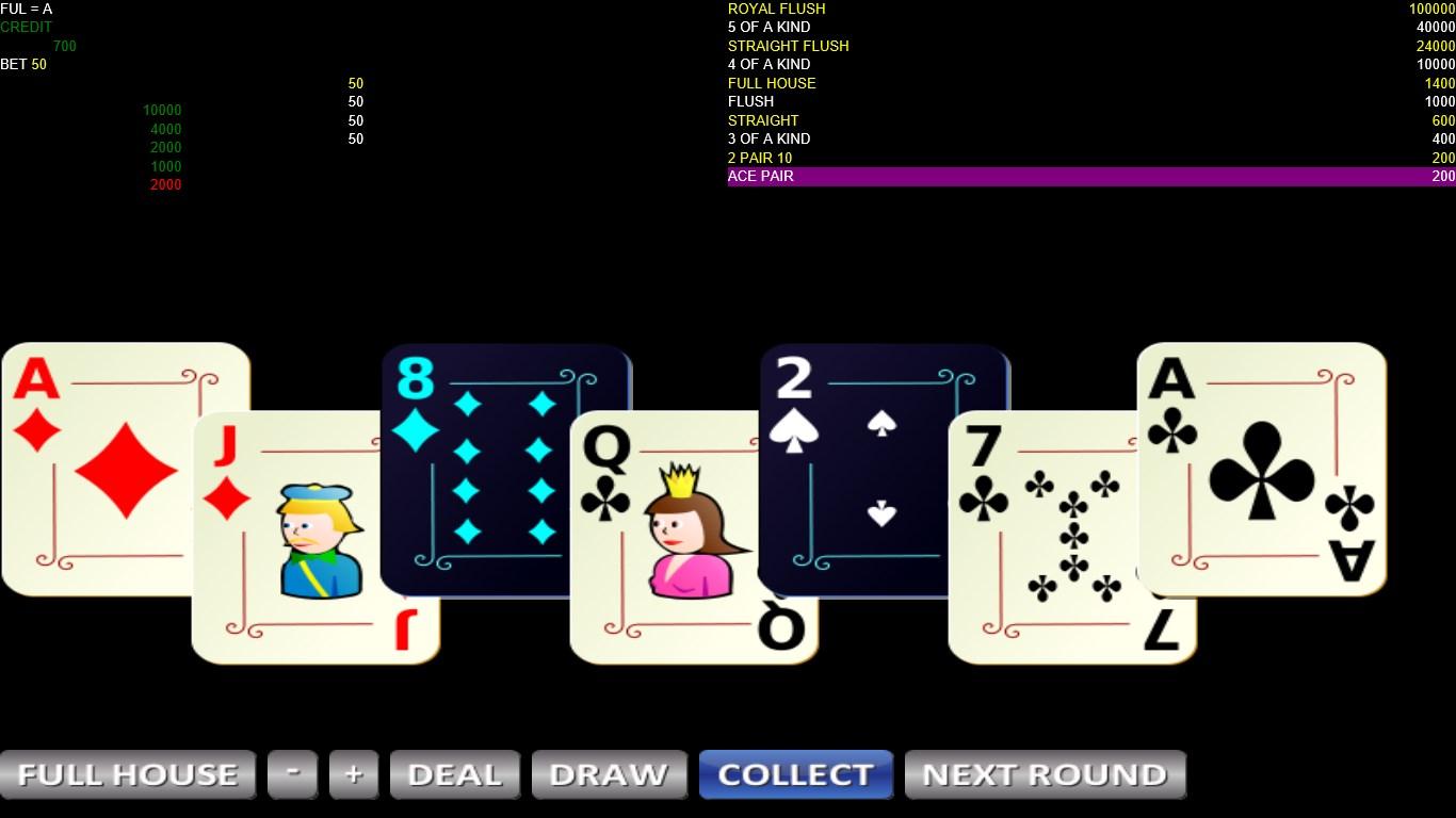 7 Cards Poker Bola Tangkas For Windows 10