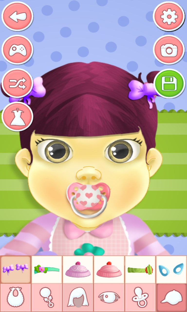 Baby dressup games for girls